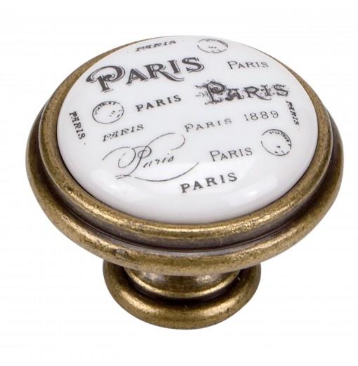 BOUTON PARIS PORCELAINE...